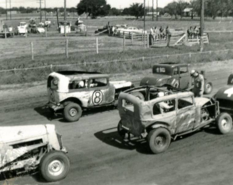 Bud Webster Was At Home On The Racetrack At Winfield Kansas