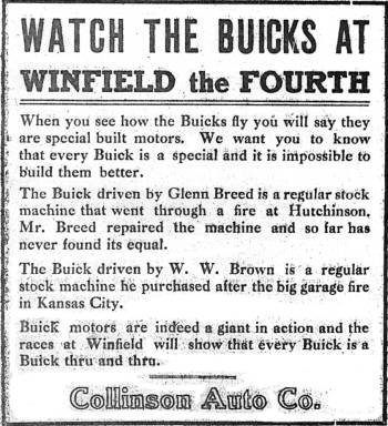 INDEPENDENCE DAY - July 4, 1912 - Winfield, KS