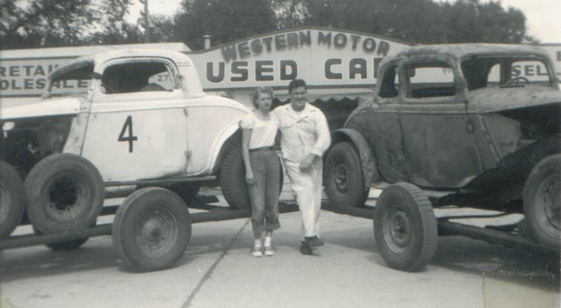Bud webster was at home on the racetrack at winfield kansas for Winfield motor company winfield ks